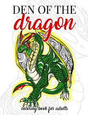 Den of the Dragon Coloring Book for Adults