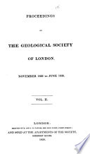 Proceedings Of The Geological Society Of London