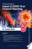Quick Guide to Impact of COVID 19 on Financial Reporting  2e Book