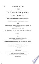 The Book of Enoch, the Prophet: an Apocryphal Production
