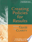 Creating Policies for Results