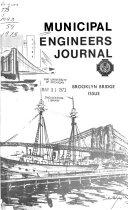 The Municipal Engineers Journal