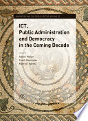Ict Public Administration And Democracy In The Coming Decade