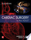 Cardiac Surgery In The Adult 5 E Book PDF