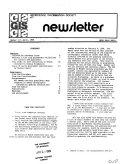 GIS Newsletter