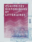 Pdf Curiosités historiques et littéraires Telecharger