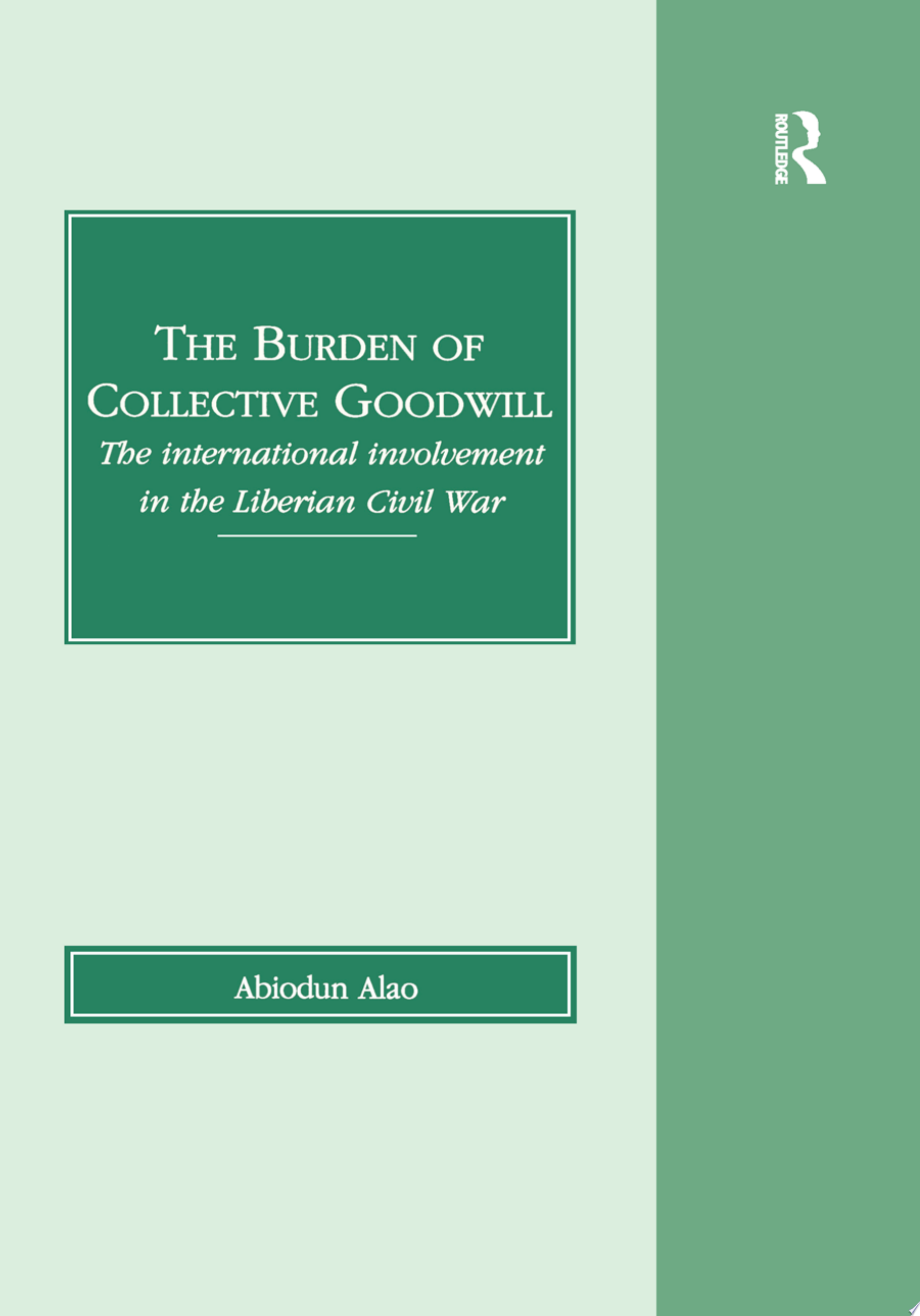 The Burden of Collective Goodwill