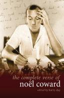Pdf The Complete Verse of Noel Coward