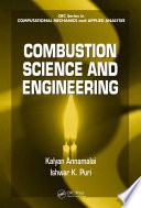 Combustion Science And Engineering Book PDF