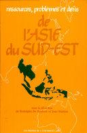 Pdf Ressources, problèmes et défis de l'Asie du Sud-Est Telecharger