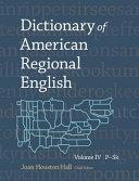 Dictionary of American Regional English: P-Sk ebook