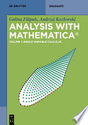 Analysis with Mathematica