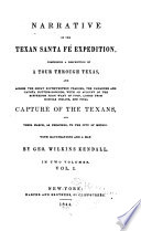 Narrative of the Texan Sante F   Expedition