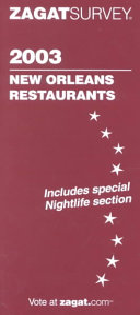 2003 New Orleans Restaurants