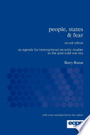 """""""People, States & Fear: An Agenda for International Security Studies in the Post-Cold War Era"""" by Barry Buzan"""