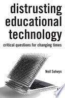 Distrusting Educational Technology
