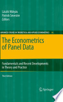 The Econometrics of Panel Data