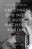Vaccines Did Not Cause Rachel s Autism Book