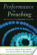 Performance in Preaching  Engaging Worship