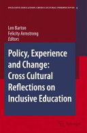 Pdf Policy, Experience and Change: Cross-Cultural Reflections on Inclusive Education Telecharger