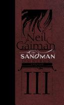 The Sandman Omnibus Vol  3