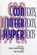 Contexts, Intertexts, and Hypertexts