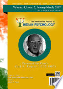 The International Journal Of Indian Psychology Volume 4 Issue 2 No 86