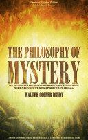 The Philosophy of Mystery Pdf/ePub eBook
