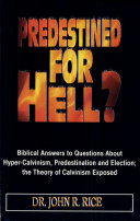 Pdf Predestined for Hell?