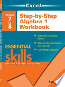 Excel Essential Skills: Years 7 to 8