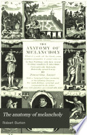 The Anatomy of Melancholy Book