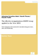 The effective reorganization of BMW Group applied to the New MINI [Pdf/ePub] eBook
