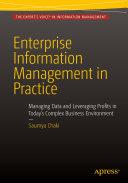 Enterprise Information Management in Practice [Pdf/ePub] eBook