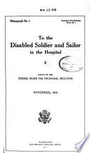 Opportunity Monographs  Vocational Rehabilitation Series Book