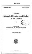 Opportunity Monographs  Vocational Rehabilitation Series