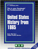United States History From 1865