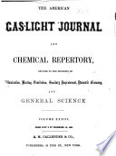 American Gas-light Journal and Chemical Repertory
