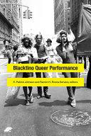 Blacktino Queer Performance Pdf/ePub eBook