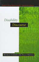 Disability Discourse