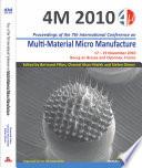 Multi Material Micro Manufacture