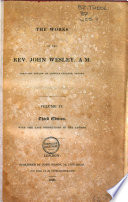 The Works Of The Rev John Wesley A M Journals