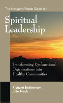 The Manager s Pocket Guide to Spiritual Leadership