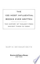 One hundred most influential books ever written