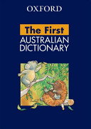 Cover of Oxford First Australian Dictionary
