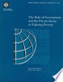 The Role of Government and the Private Sector in Fighting Poverty