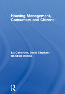 Housing Management  Consumers and Citizens