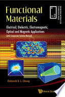 Functional Materials Book