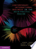 Contemporary International Business in the Asia Pacific Region Book