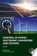 Control of Power Electronic Converters and Systems Book