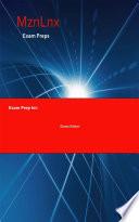 Exam Prep for: Applied Longitudinal Data Analysis for ...